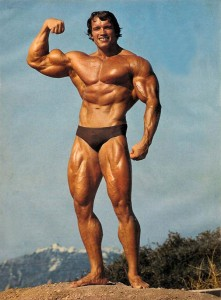 Will you one day be as big as Arnold?  No. No you  won't.