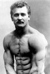 Eugene Sandow, circa 1911