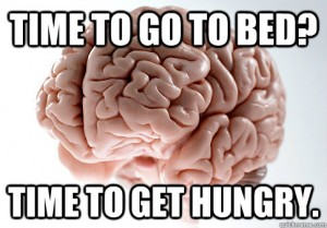 You must defeat your scumbag brain to reach the highest level of intermittent fasting.
