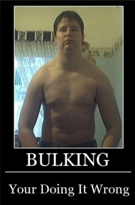 This is what happens when people bulk wrong.